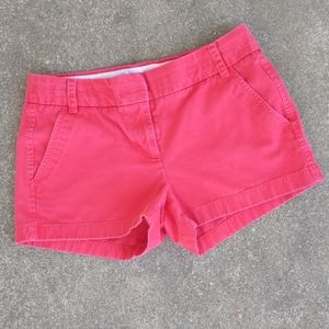 J.Crew Red Chino Shorts